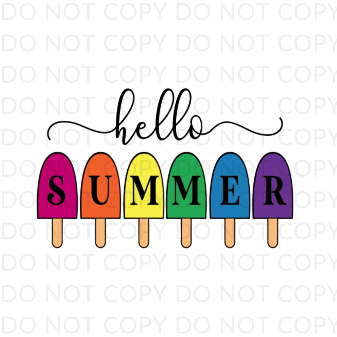 Hello Summer Digital Design