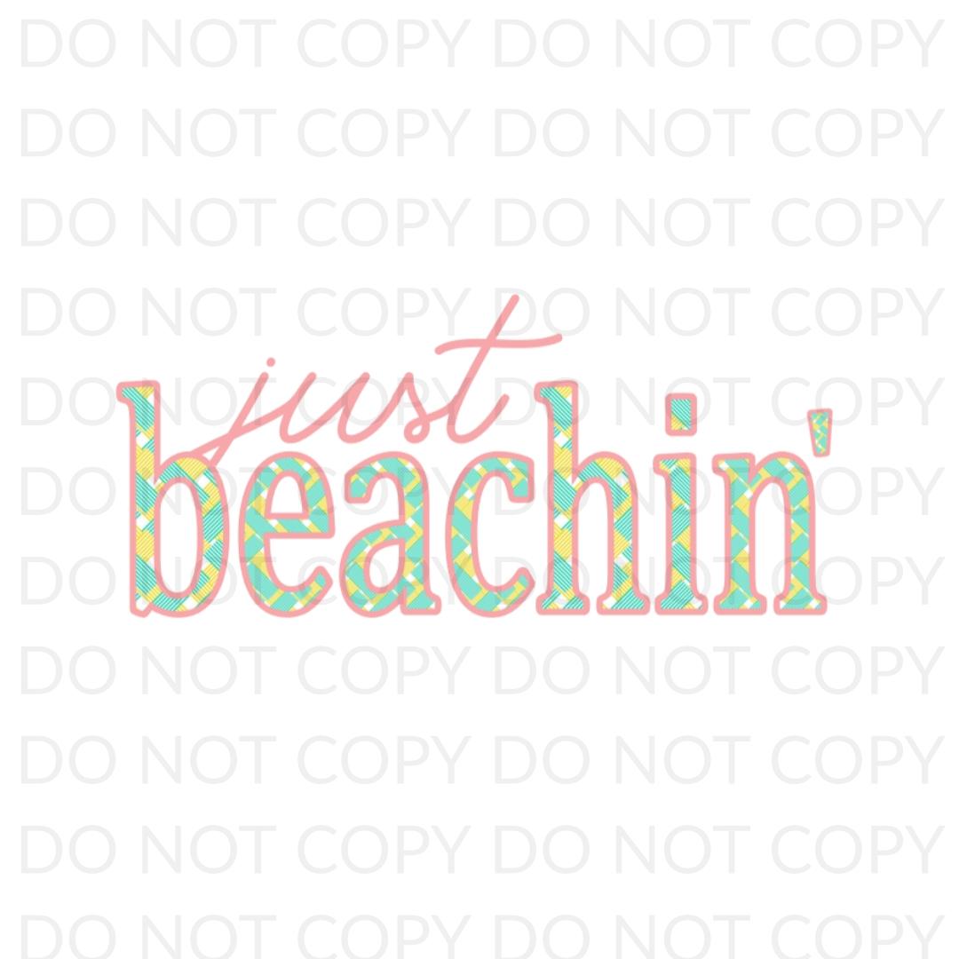 Just Beachin Digital Design
