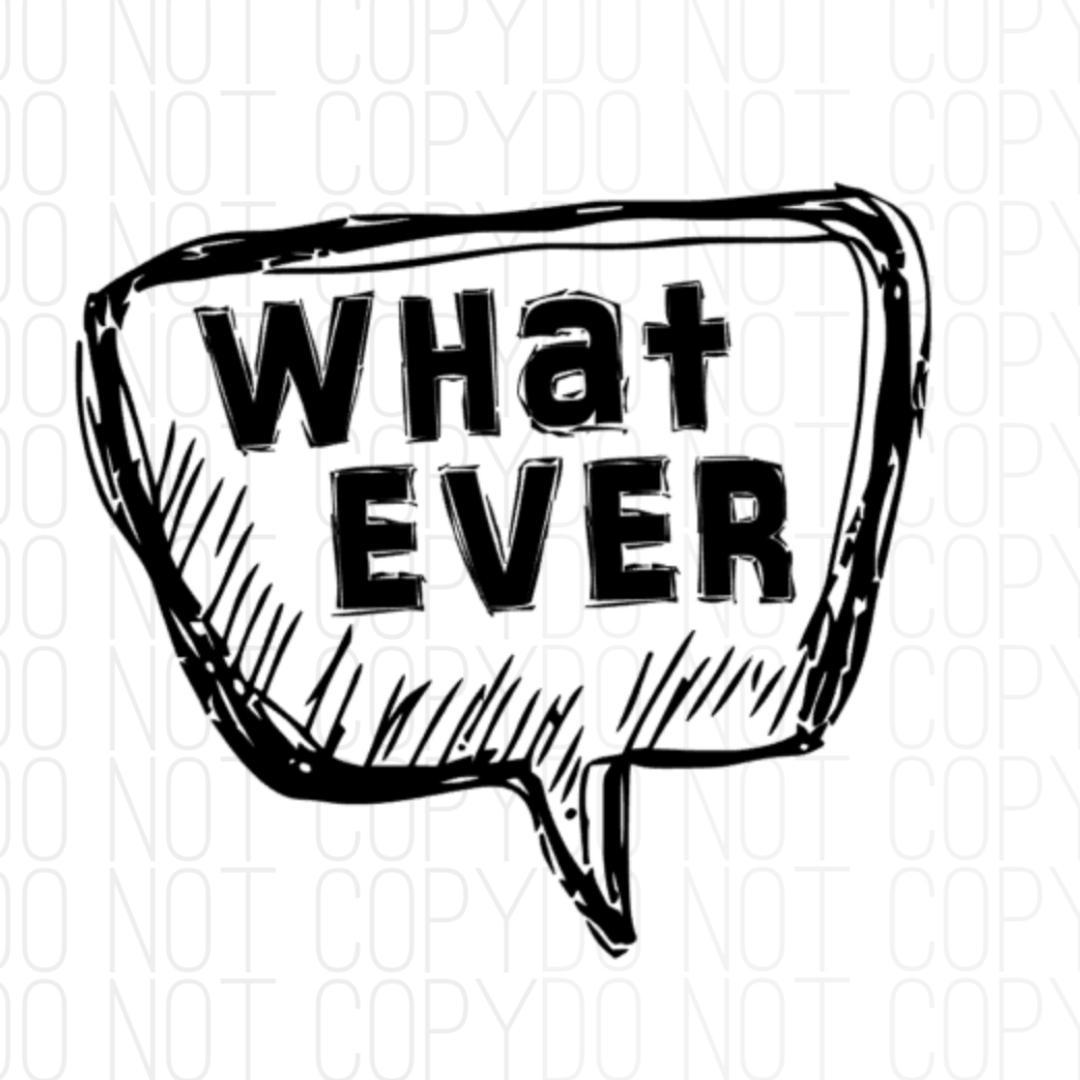 Whatever Digital Design