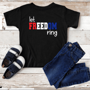 Let Freedom Ring Youth Mockup