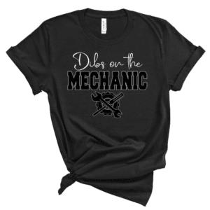Dibs On The Mechanic Mockup