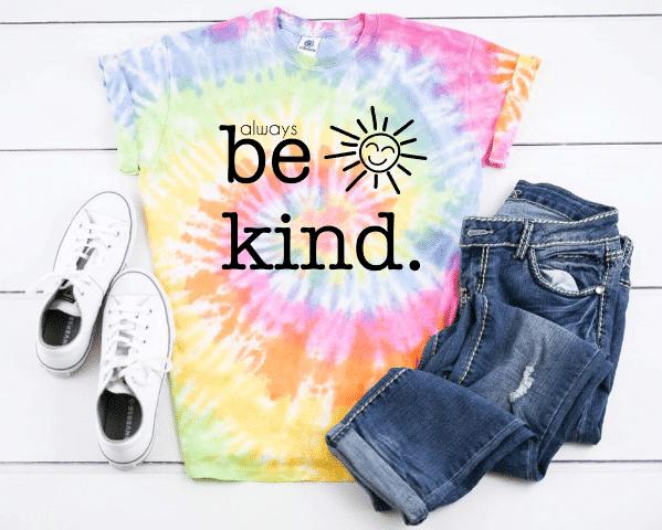 always be kind mockup
