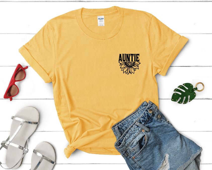 Auntie Shirt Mockup