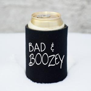 Bad & Boozey Koozie Mockup