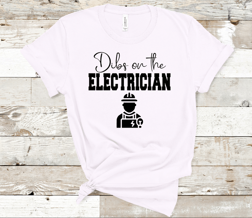 Dibs On The Electrician Mockup
