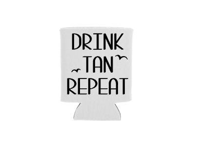 Drink Tan Repeat Mockup