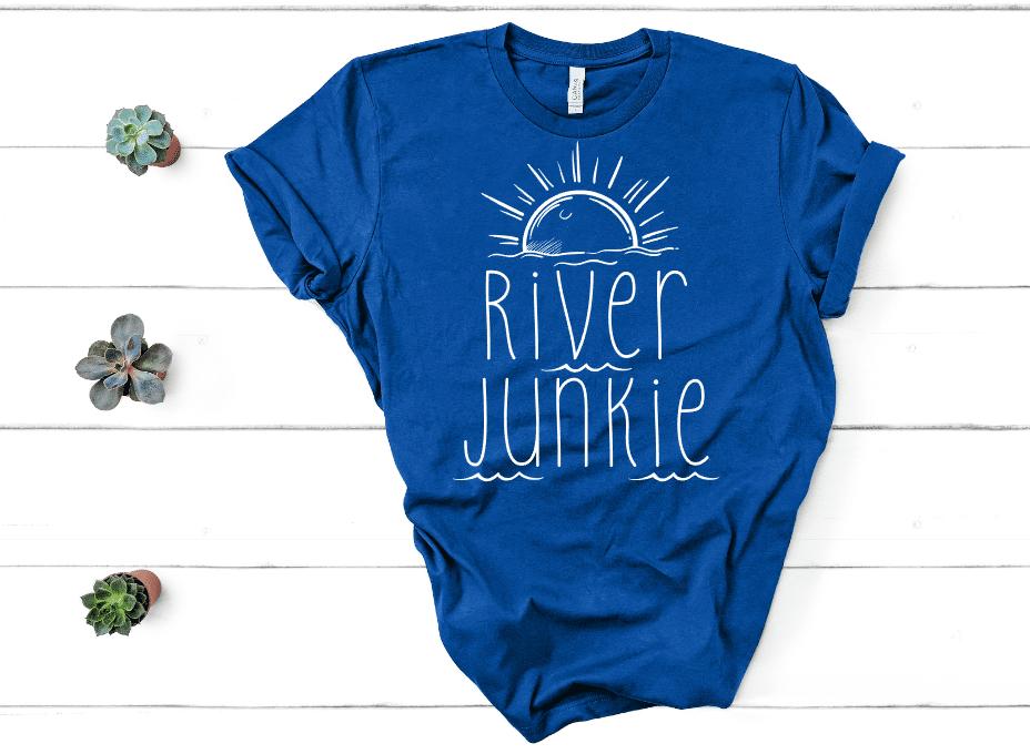 River Junkie Mockup