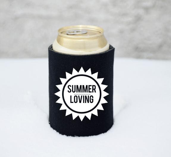 Summer Loving Koozie Transfer