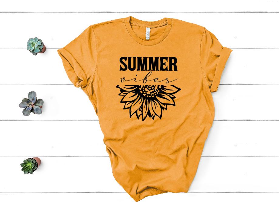 Summer Vibes Sunflower Mockup