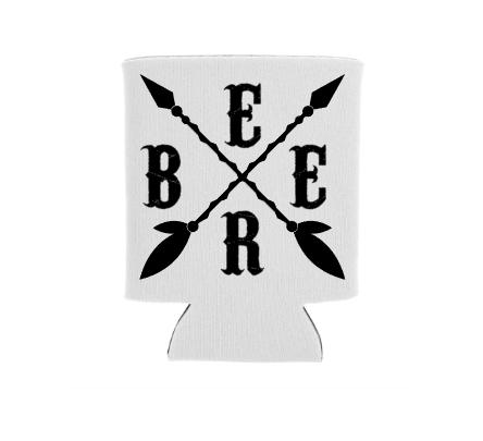 Beer Arrows Screen Print Transfer