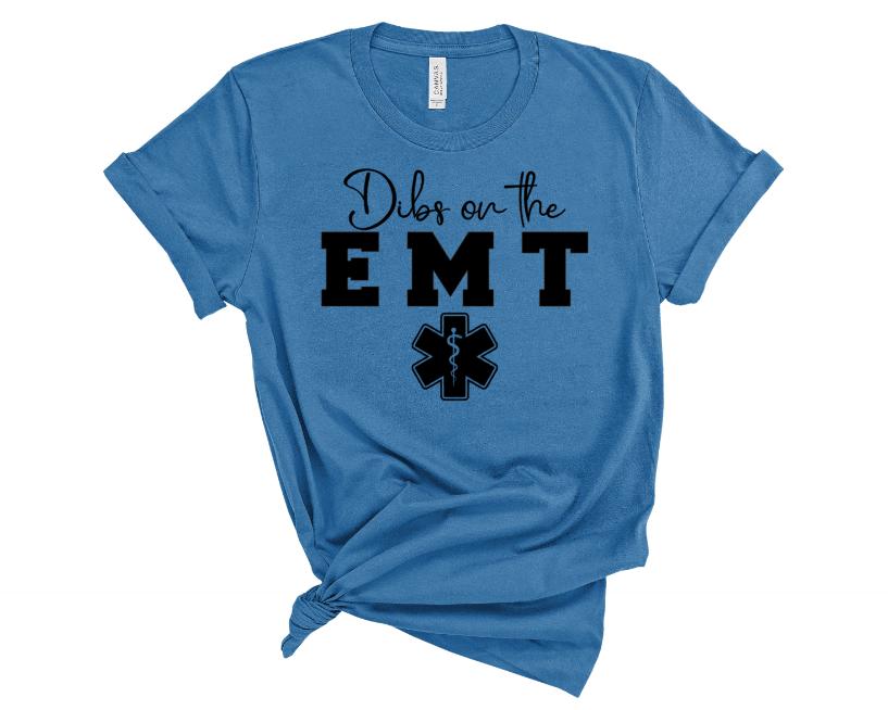 Dibs On The EMT Screen Print Transfer