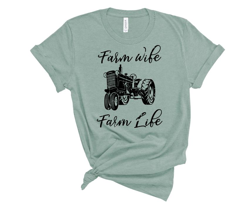 Farm Wife Farm Life Mockup