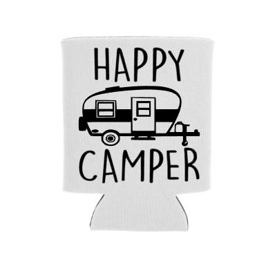 happy camper screen print transfer