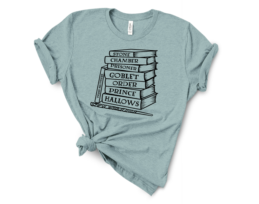 Harry Potter Screen Print Transfer T-Shirt Mockup