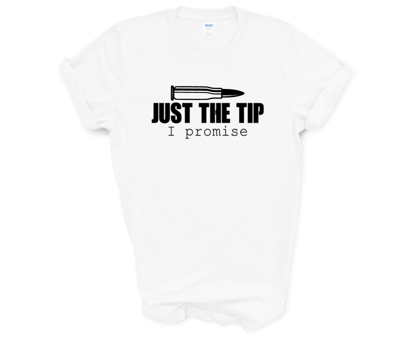 Just The Tip Screen Print Transfer