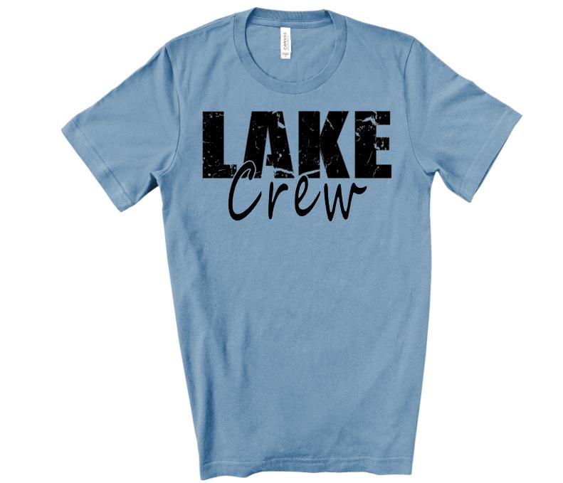 Lake Crew Adult Screen Print Transfer