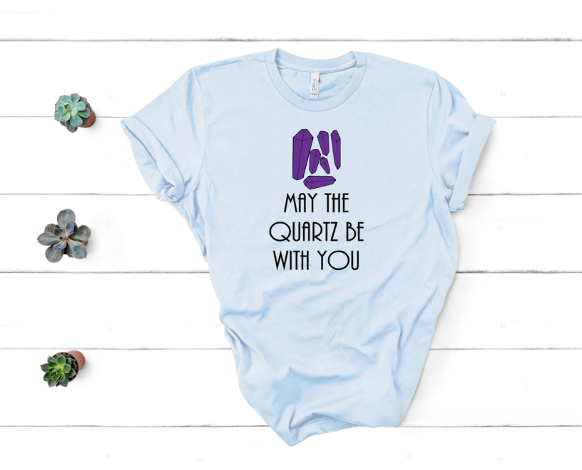 May The Quartz Be With You Mockup