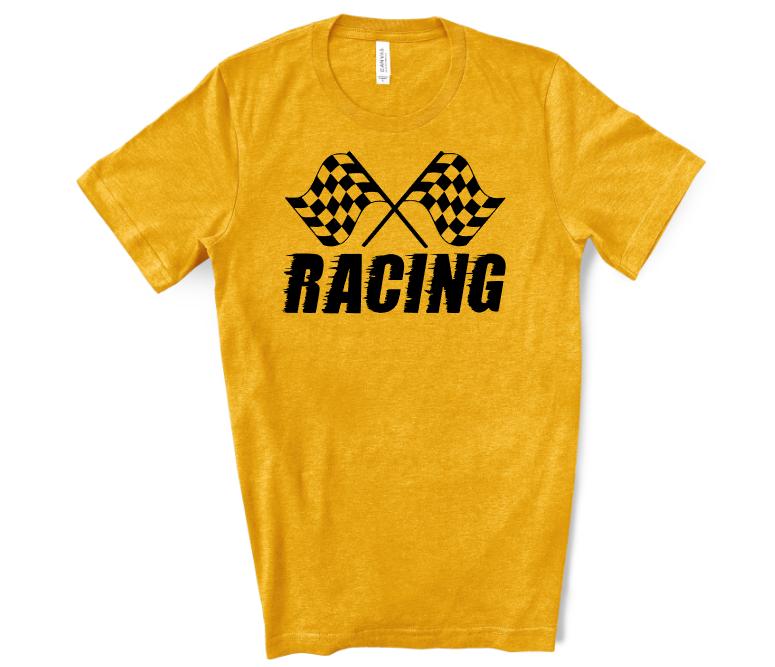 Racing Yellow Mockup Screen Print Transfer