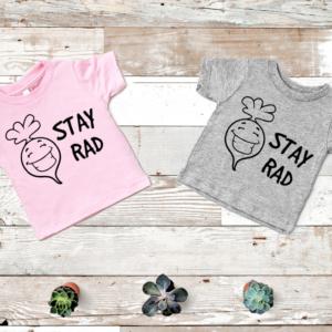 Stay Rad Youth Screen Print Transfer