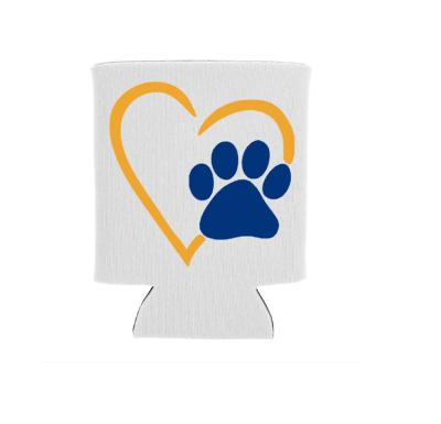 Pet Heart Screen Print Transfer