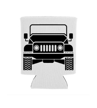 Jeep Koozie Screen Print Transfer