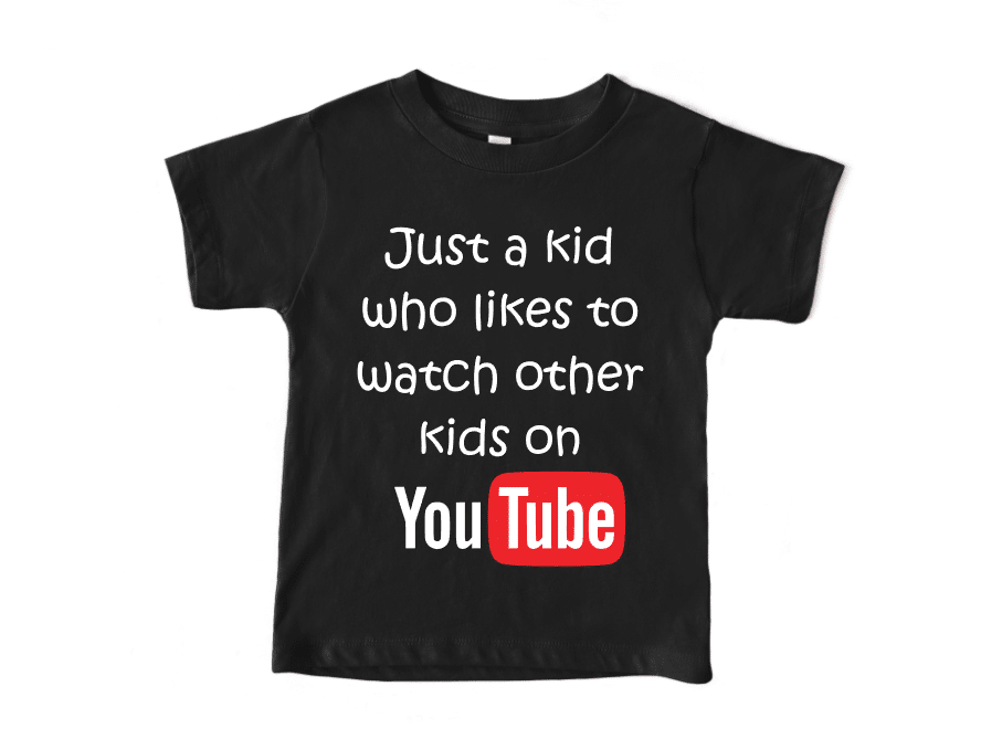 just a kid who watches other kids on youtube