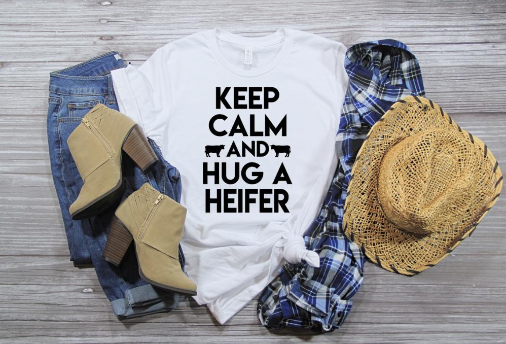 Hug A Heifer T-Shirt