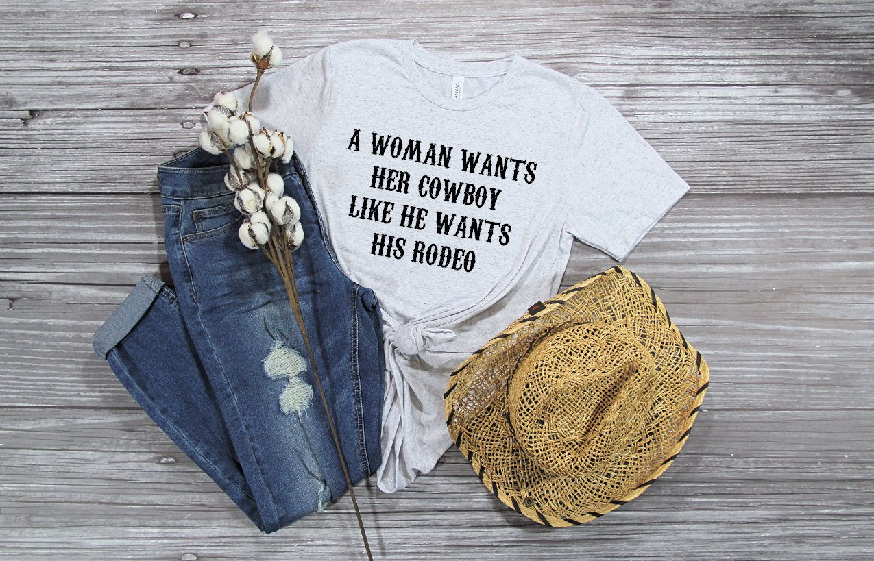 a woman wants her cowboy