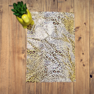 leopard poly mailer
