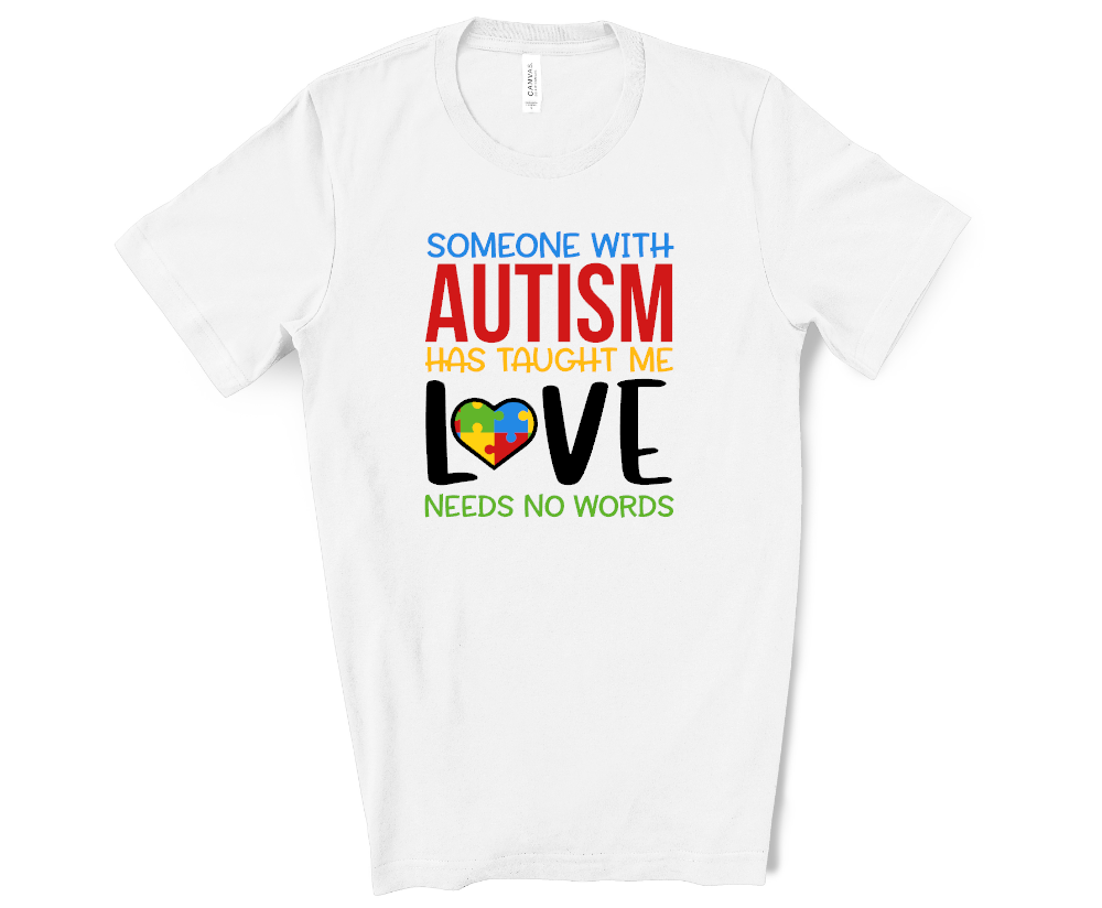 someone with autism