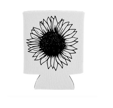 sunflower koozie