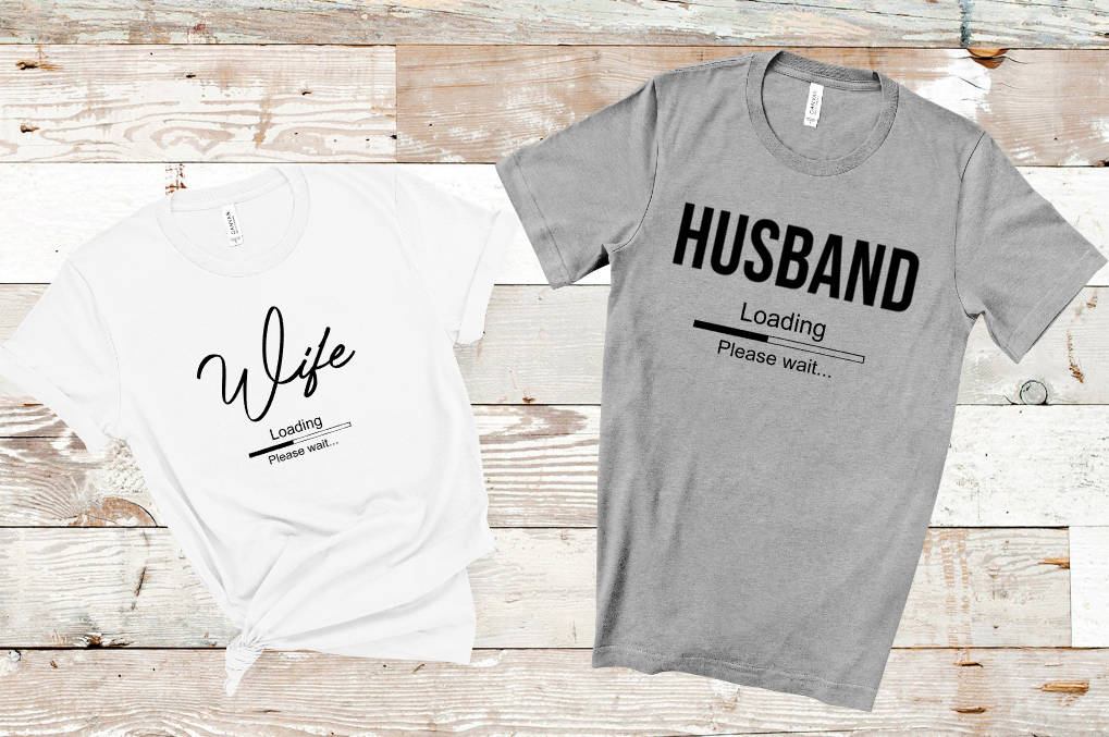 wife husband loading