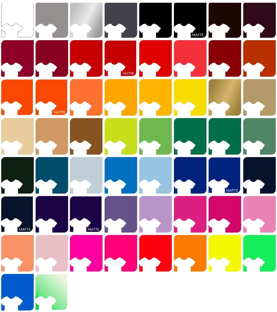 Siser EasyWeed Colors