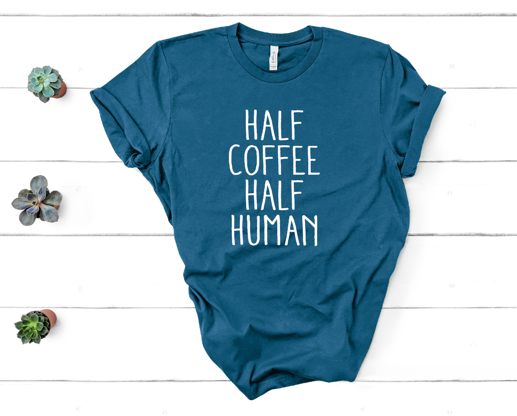 half coffee half human