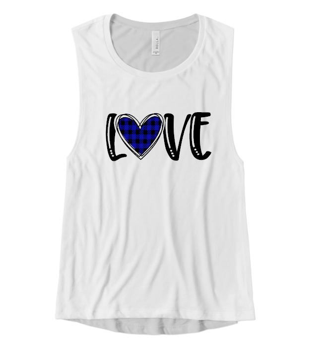love blue heart