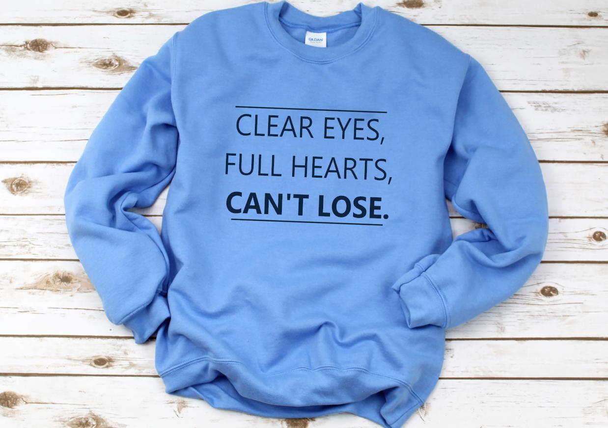 clear eyes cant loose - dark nexy blue