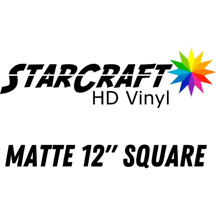 Matte 12 inch square