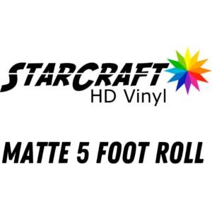 Matte 5 foot roll