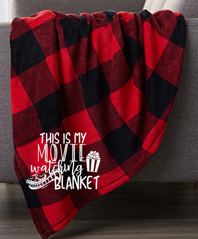 this is my movie wathcing blanket