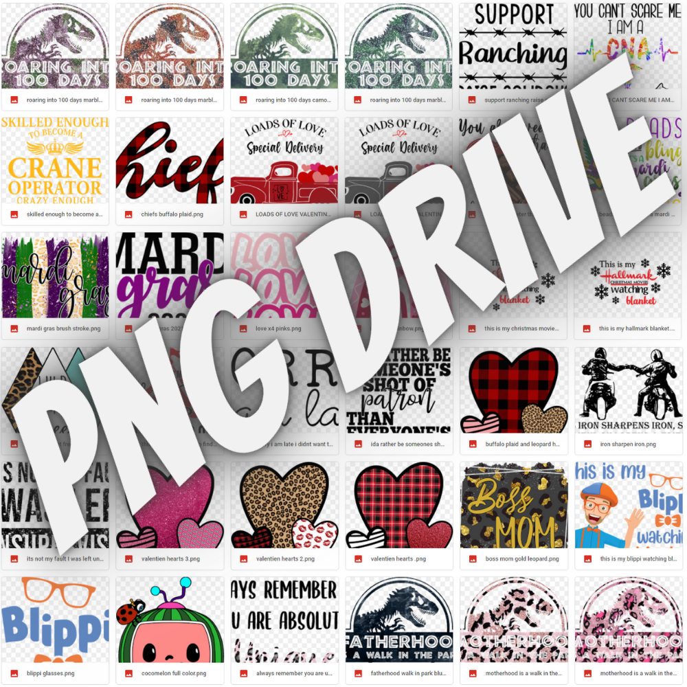 PNG Drive Preview