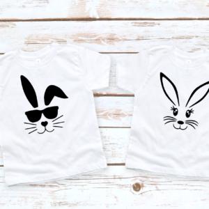 boy girl bunny