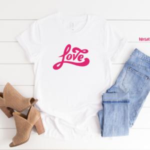 love metallic pink