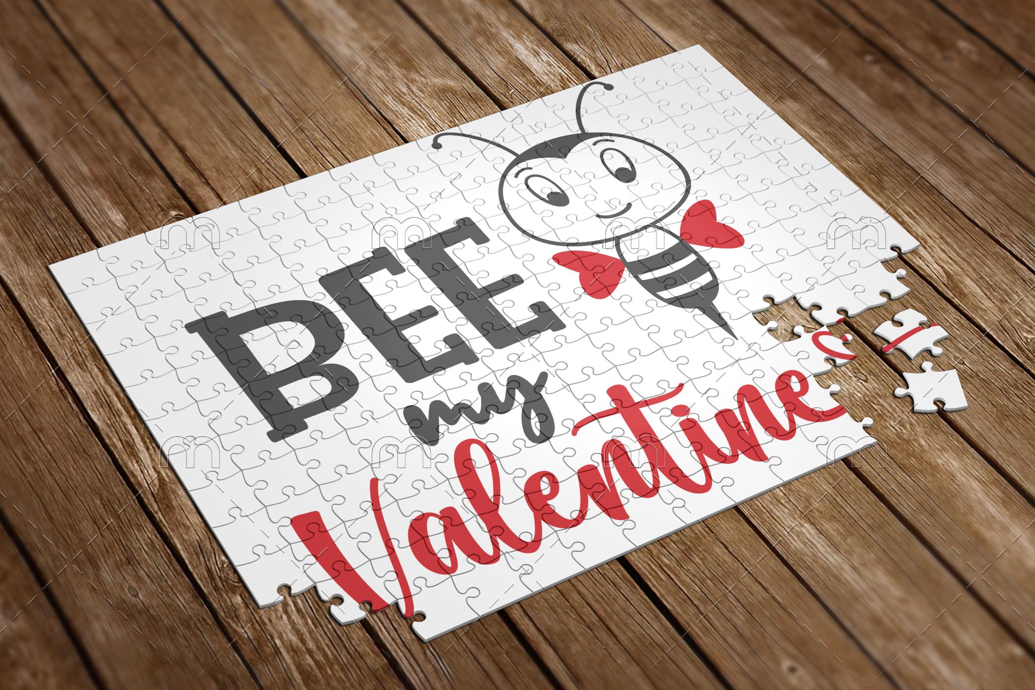 bee my valentine puzzle