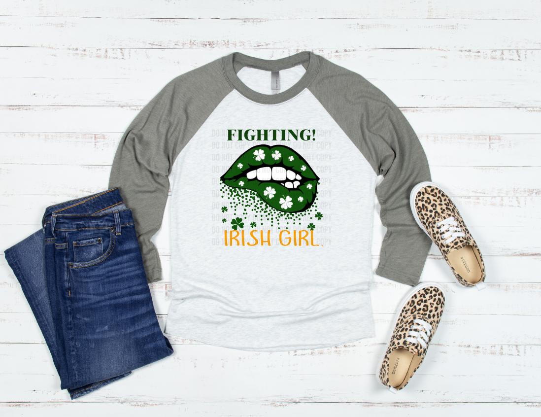fighting irish girl