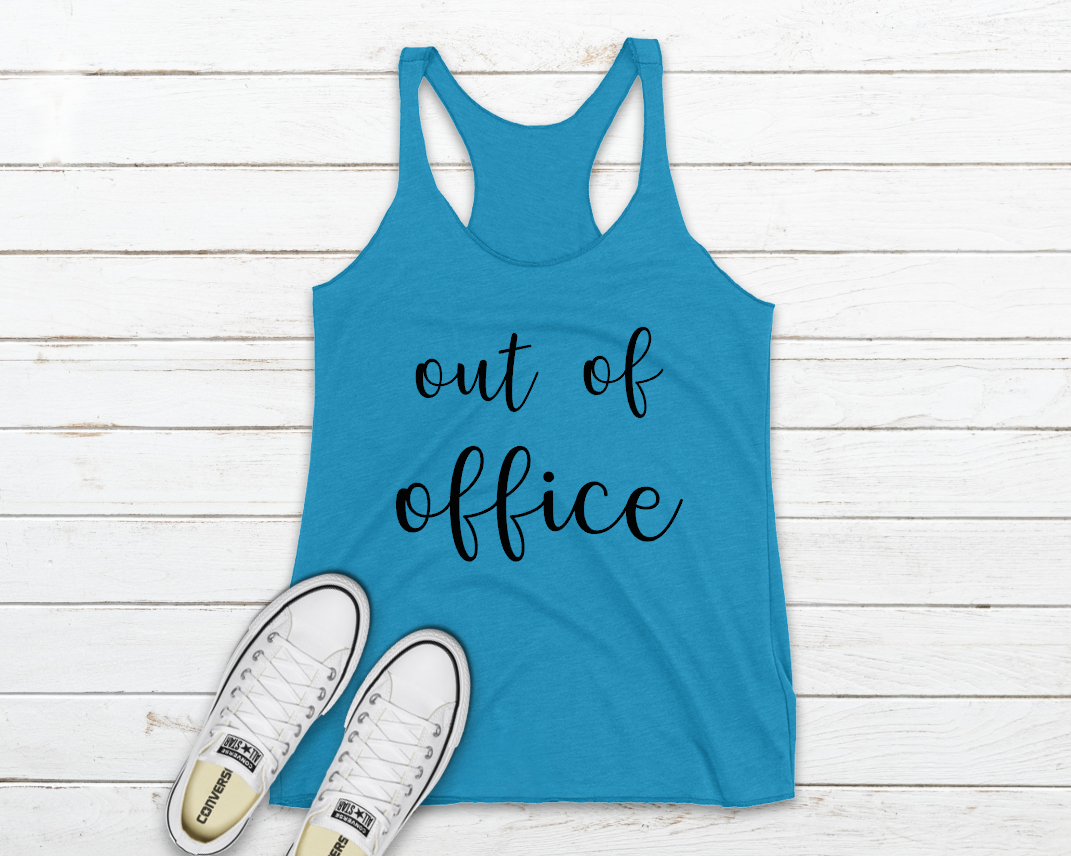 out of office black