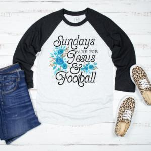 sundays are for jesusa and football