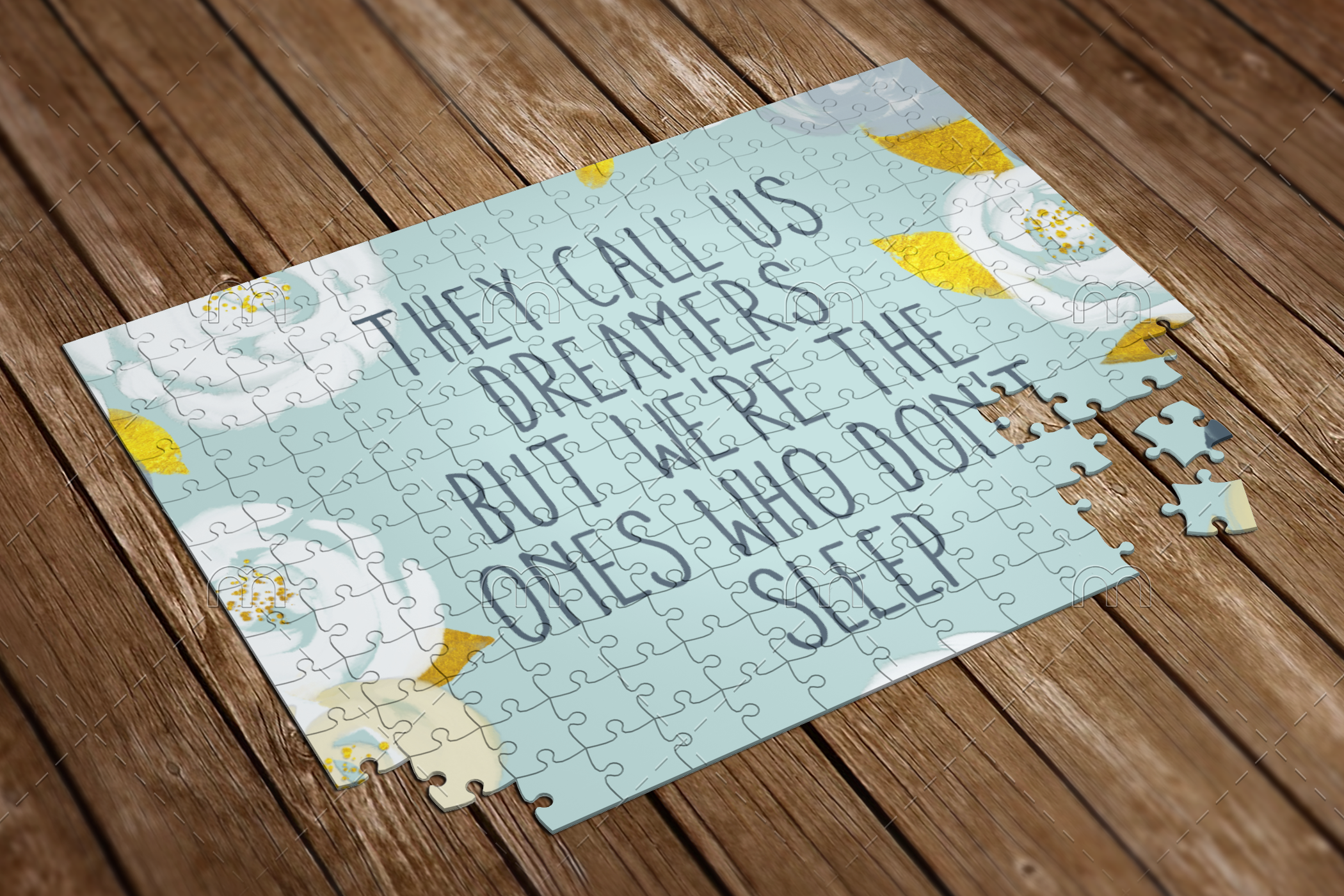 they call us dreamers puzzle