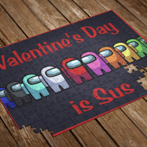 valentiens day is sus puzzle
