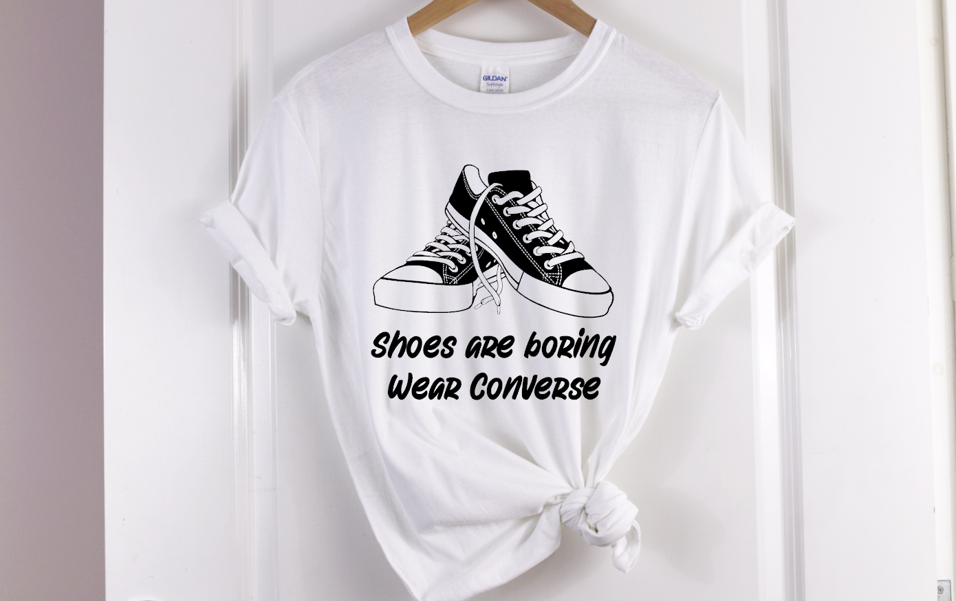 shoes are boring wear converse
