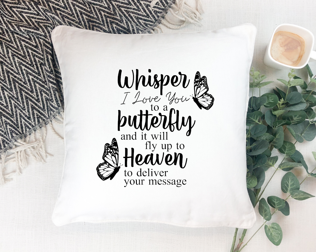 whisper I love you to a butterfly